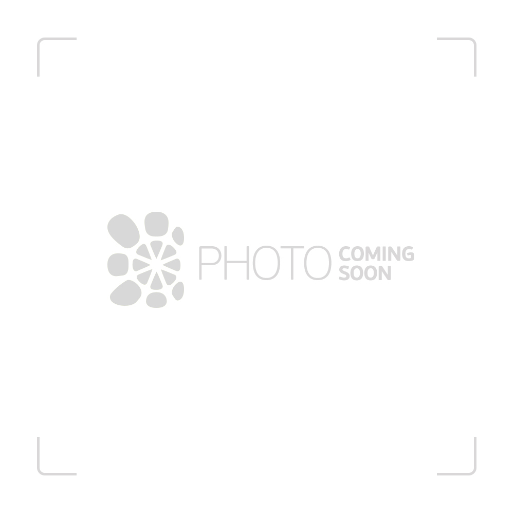 Grace Glass - Four 6-arm Perc Beaker Base 7mm Glass Tube - Black